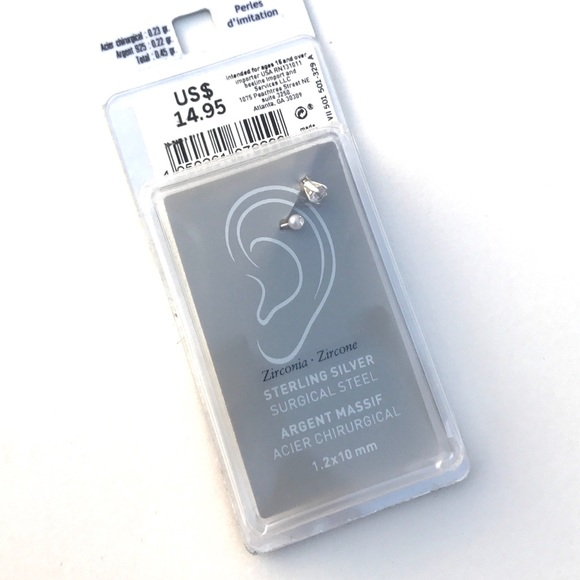 04339df6d1585 Old navy sterling silver earring NWT