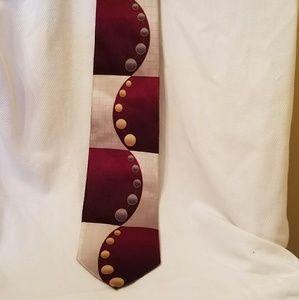 Other - Vintage 100% silk tie