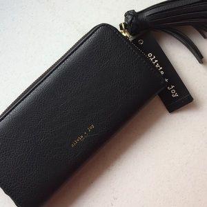 Olivia + Joy tassel wallet
