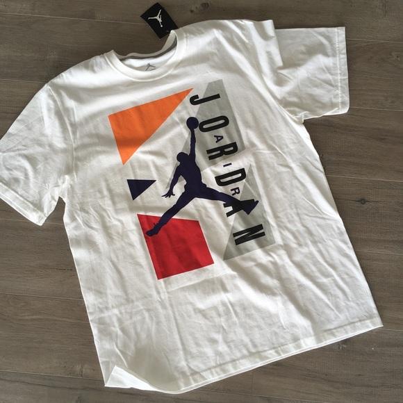 9746513c40d1 AIR JORDAN ~ Tshirt orange
