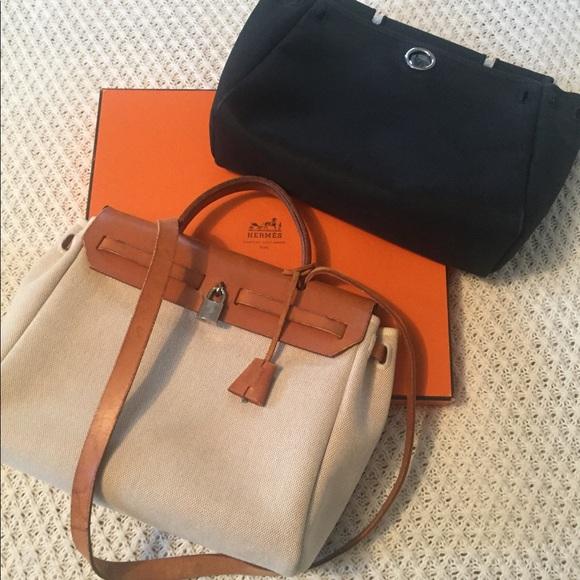 6c499bea0b8c Hermes Handbags - 🌿Hermes Herbag PM 2-in-1🌿