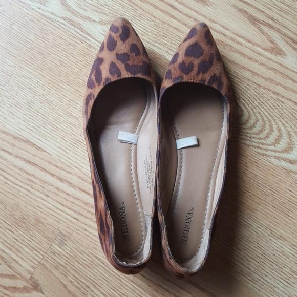 e991399e35ad Merona Drew Leopard Ballet Flats. M_59ac796bb4188ed80707bcb9