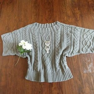❤Express cable knit sweater