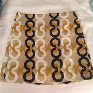 J Crew above-the-knee skirt (size 2)