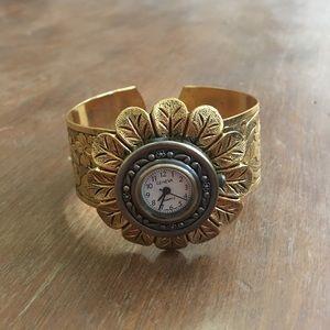 Anthropologie cuff watch, O/S