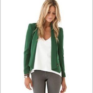 Rebecca Minkoff Emerald Green Becky Blazer
