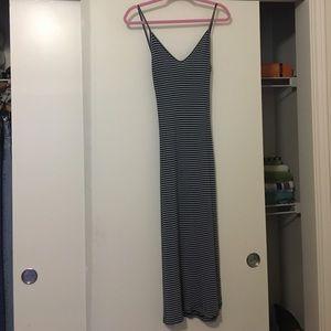 Blue striped Aliza dress