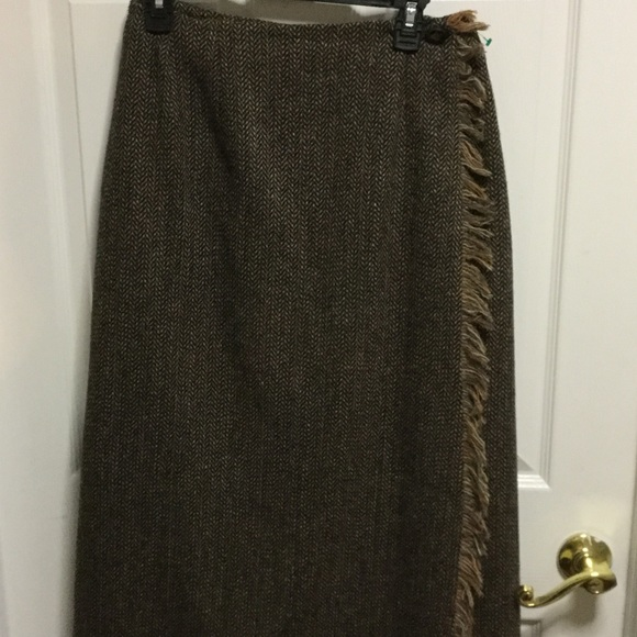 9768622fd918 Harve Benard Skirts | Harve Bernard Wool Wrap Around Skirt With ...