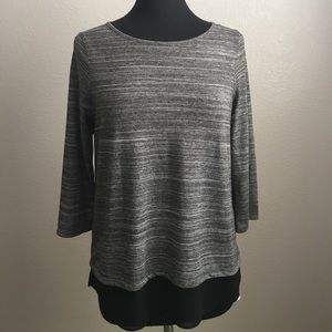 NWT The Limited Split Back Top