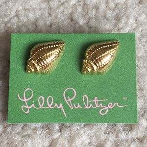 Lilly Pulitzer Shell Stud Earrings