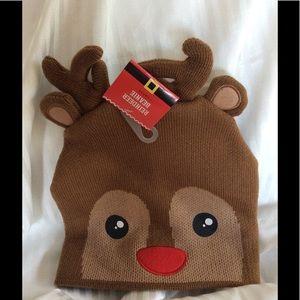 Reindeer Stocking Hat