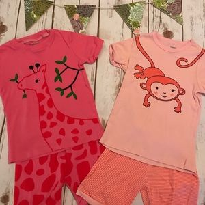 Other - Toddler Girl PJ Bundle- Shorts and T-shirts