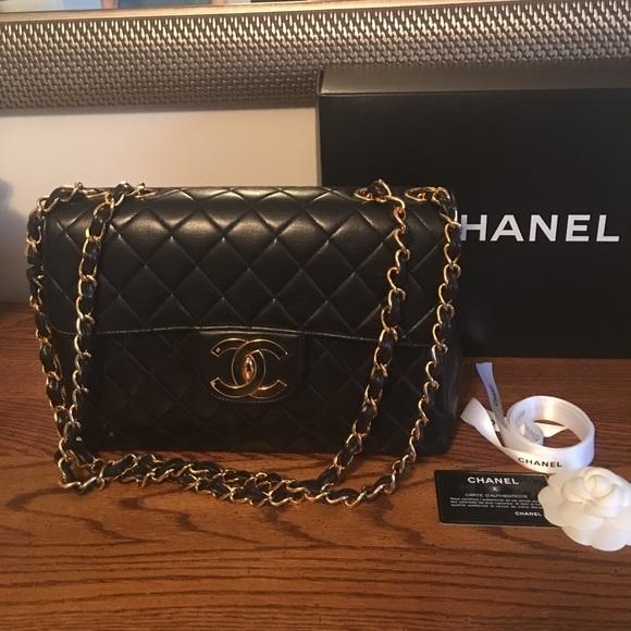 5ae506a7195f67 CHANEL Handbags - Authentic Vintage Chanel XL Jumbo Maxi Flap