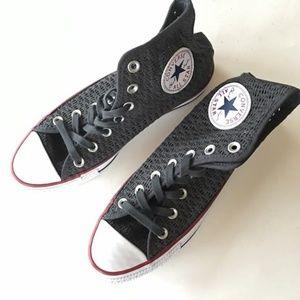 NEW CONVERSE Chuck Taylor high top grey sneaker