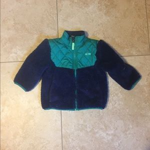 Toddler fuzzy soft jacket