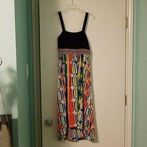 Flowy Rainbow dress