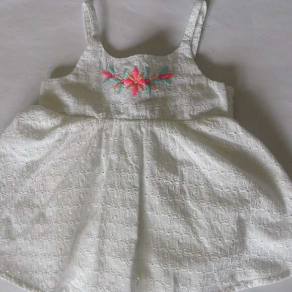 Piper Posie One Pieces Piper Posie Baby Girl White Dress 03