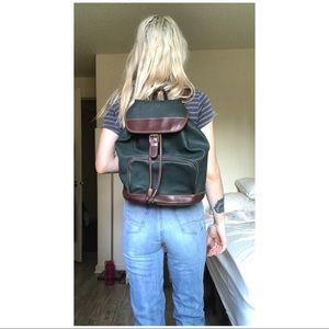 •90's VTG ESPIRIT - Forest Leather Pack•