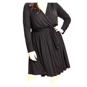 Rachel Pally Rocio Faux Wrap Dress Plus Sized