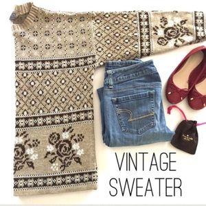 Vintage Sasson Crewneck Sweater Size Large