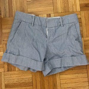 Club Monaco Marianna Pin Stripe Shorts - NO TRADE