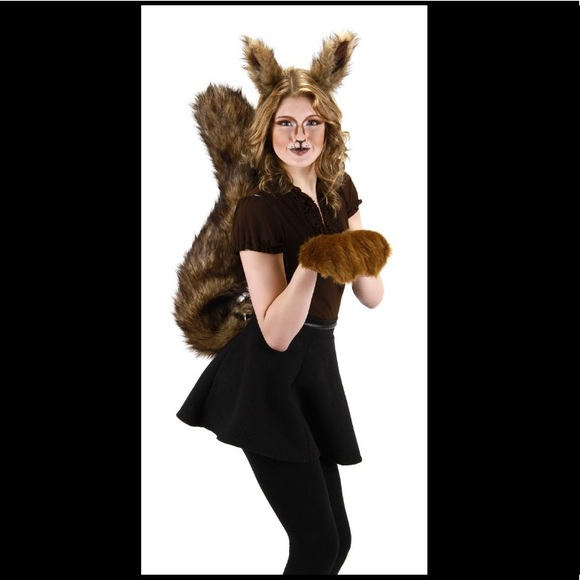 squirrel halloween costume set