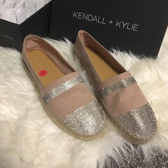 d85db3458 Kendall & Kylie Shoes | Kendall And Kylie Pink Jeweled Espadrilles ...