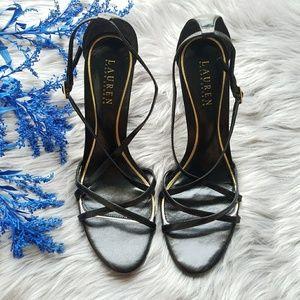 💥CLEARANCE💥Ralph Lauren Strappy Heel Sandals