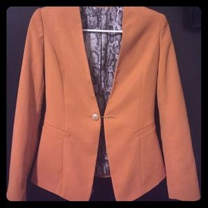 Jackets & Blazers - Slim orange blazer