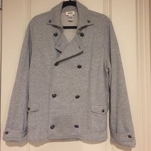 Beautifully Detailed Double Breasted Pea Coat