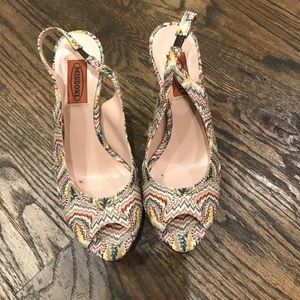 Missoni Shoes 37.5 Worn Once!
