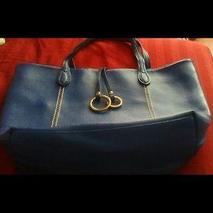 Handbags - Royal blue tote