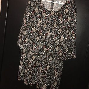 Old Navy floral dress.