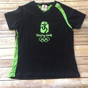 Tops - Beijing 2008 Summer Olympics Womens Athletic Shirt