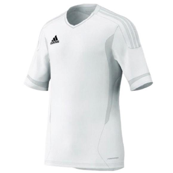 adidas Tops | Adidas Women Camp 1 Soccer Training Jersey White ...