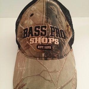 caa4d1f11c0 Bass Pro Shop Accessories - Bass Pro Shops Camo Mesh Hat Cap