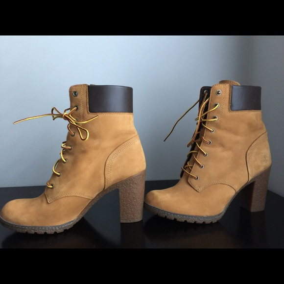 9898059fbb7b Timberland Shoes - Timberland Women s Glancy 6-Inch Boots -Wheat -