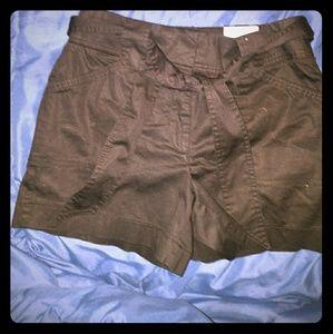 White House black market tie shorts
