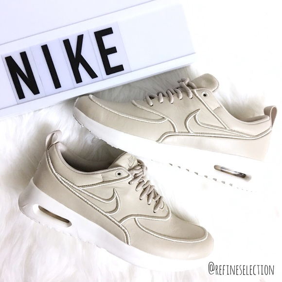 buy popular a07be e8f76 Nike Air Max Thea Ultra SI Leather Oatmeal Sneaker