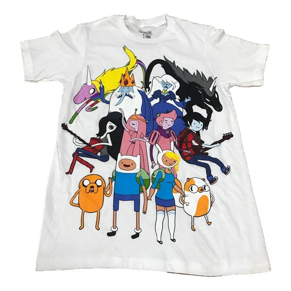 Adventure Time Tops Xs Tshirt Poshmark