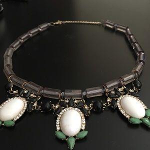 JEWELMINT dangled jewel necklace