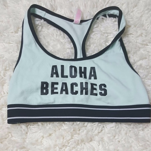 2b69544dd3 Aloha Beaches Pink Nation Sports Bra S. M 59ad1c77c2845617dd00656e