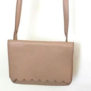 Banana Republic pink cross body purse