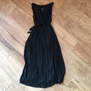 GUC size xs liz Lange black maternity dress