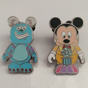 Vinylmation- set of 2- Disney Pins