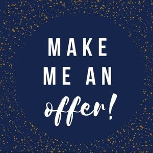All reasonable offers accepted. Bundle and save!!!