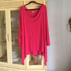 Double layer knit shirt, 3x