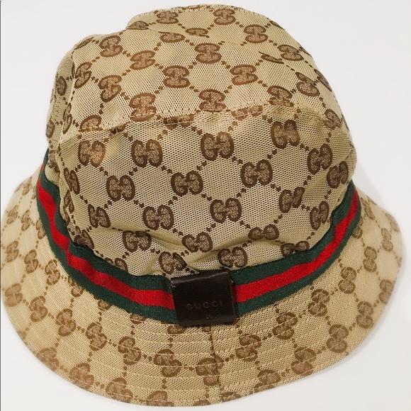 0711f78998a Gucci Accessories - Gucci Cotton Blend Unisex Hat