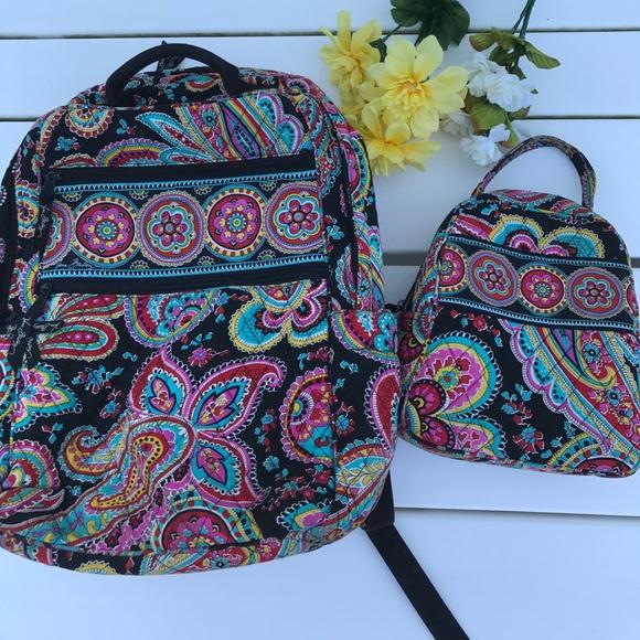 97caf7c7036c Vera Bradley Tech Backpack and Lunchbox. M 59adb5f6713fde1a70002b2a