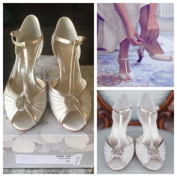 Anthropologie Shoes Rachel Simpson Mimi Wedding Retro Vintage